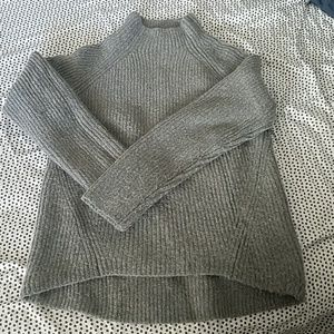 Madewell Gray Mock Neck